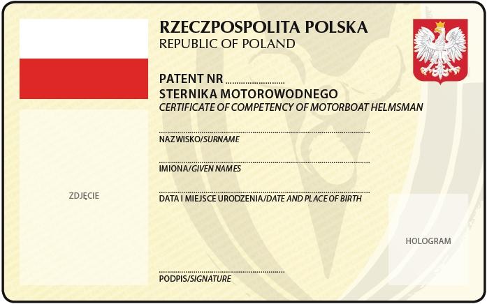 patent sternik motorowodny
