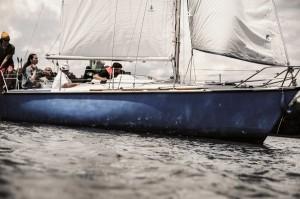 Jacht żaglowy Jezioro Paprocańskie
